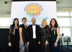 The judging panel for the 2015 National Service User Awards