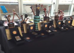 Some of the service user made awards